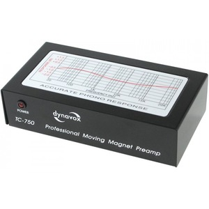 Фонокорректор MM DYNAVOX TC-750 Black (201403)