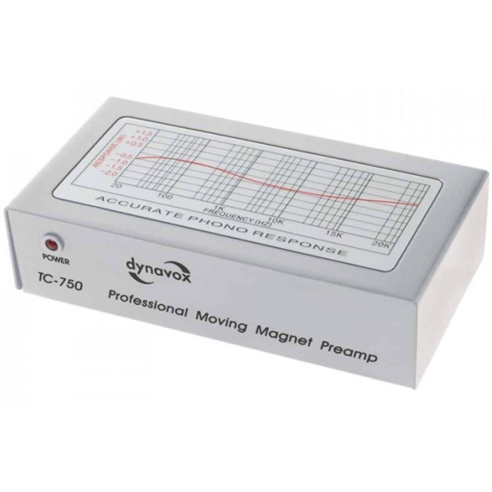 Фонокорректор MM DYNAVOX TC-750 Silver (206009)