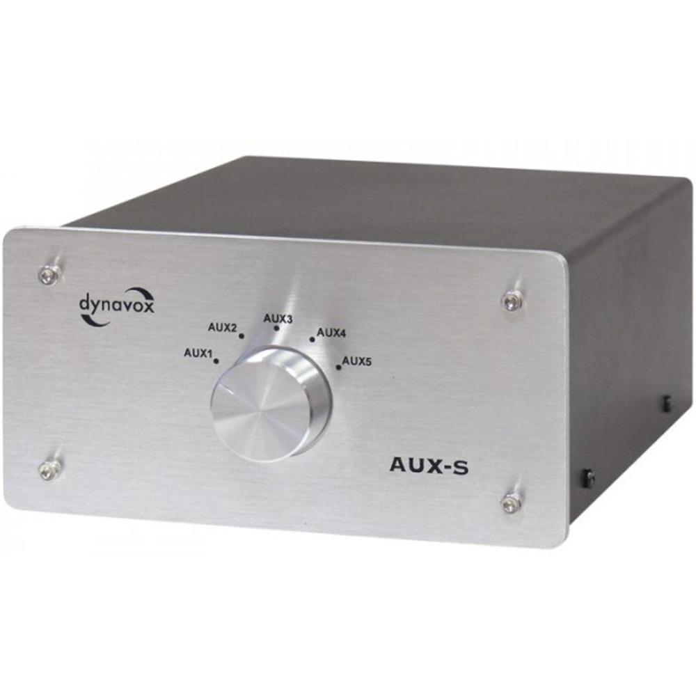 Спикерселектор DYNAVOX AUX-S Silver (206411)