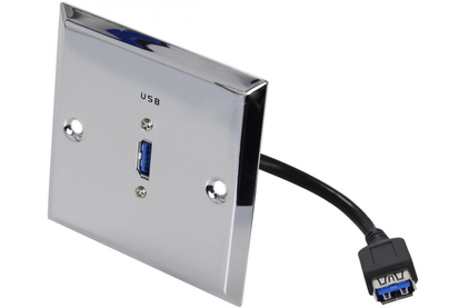 Розетка USB DYNAVOX Настенная консоль (207266)