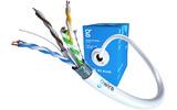 Отрезок кабеля витая пара GWire (арт.5385) F/UTP CAT6 4PR 23 AWG 3.6m