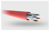 Отрезок кабеля витая пара QED (арт.5392)  Professional QXCAT6-UTP Red 6.5m