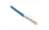 Отрезок кабеля витая пара Hyperline (арт.5408)  UUTP4-C6-S23-IN-PVC-BL 3.97m