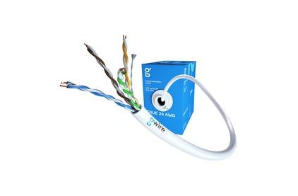 Отрезок кабеля витая пара GWire (арт.5431) UTP CAT5E 4P 0.51 CCA (13001) 59.0m