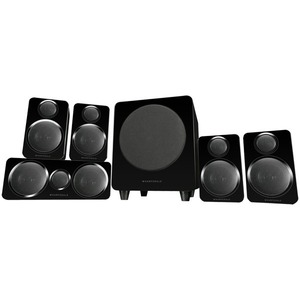 Комплект колонок Wharfedale DX-2 HCP 5.1 System Black Leather