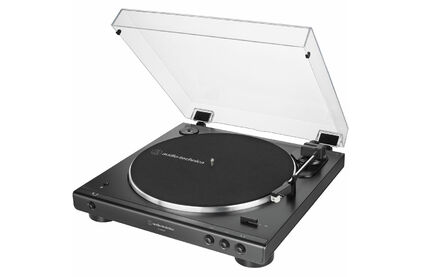 Виниловый проигрыватель Audio-Technica AT-LP60XBTBK