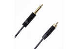 Кабель аудио 1xJack - 1xRCA Rich Pro RP600BLK 0.75m