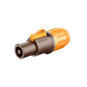 Разъем PowerCON Roxtone RAC3FCI-WP Brown