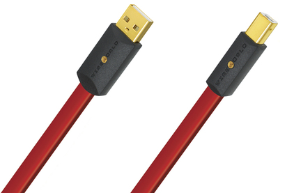 Кабель USB 2.0 Тип A - B WireWorld Starlight 8 USB (2.0) A to B 1.0m