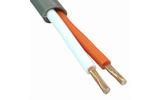 Отрезок акустического кабеля Canare (арт. 5671) 2S11F GRY 1.76m
