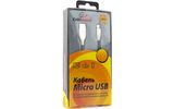 Micro USB кабель Cablexpert CC-G-mUSB01Bk-3M 3.0m