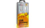 Lightning USB кабель Cablexpert CC-G-APUSB01W-3M 3.0m