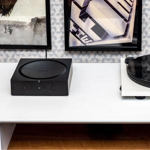 Сетевой проигрыватель с усилителем Sonos AMP Black