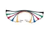 Акустический кабель Jack - Jack Roxtone PTC005/0,15 0.15m