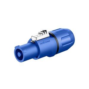 Разъем PowerCON Roxtone RAC3FCI Blue/black
