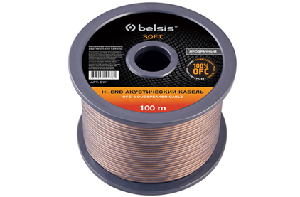 Отрезок акустического кабеля Belsis (арт. 6144) BW7710 SOFT 2.89m