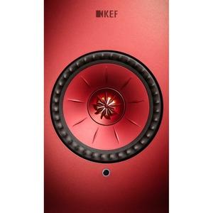Колонка полочная KEF LSX Red