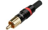 Разъем RCA (Папа) HIC-ON HI-CM03-RED