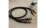 Кабель аудио 2xRCA - 2xRCA DYNAVOX Perfect Sound Stereo Cable (207619) 0.5m