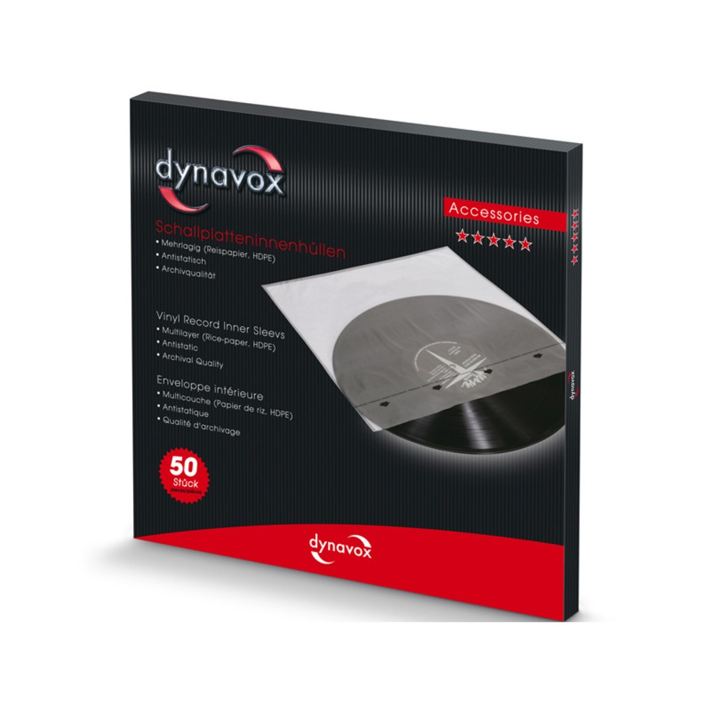 Антистатический конверт DYNAVOX для LP Set-50 (207590)