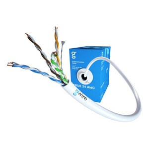 Отрезок кабеля витая пара GWire (арт.6307) UTP CAT5E 4P 0.51 BC 24 AWG 8.55m