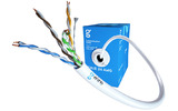 Отрезок кабеля витая пара GWire (арт.6309) UTP CAT5E 4P 0.51 BC 24 AWG 15.3m