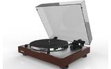 Проигрыватель виниловых дисков Thorens TD 402DD High Gloss Walnut, TP72 (AT-VM95E)