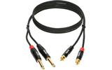 Кабель аудио 2xJack - 2xRCA KLOTZ KT-CJ300 3.0m