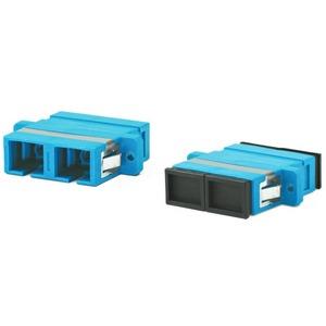 Оптический проходной адаптер SC-SC Hyperline FA-P11Z-DSC/DSC-N/BK-BL