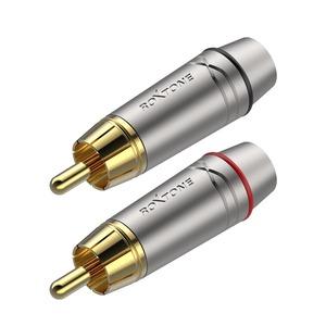 Разъем RCA (Комплект) Roxtone RF2P-NG (2шт.)
