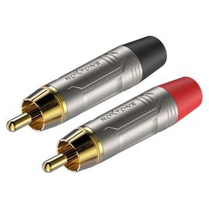 Разъем RCA (Комплект) Roxtone RF2C-NG (2шт.)