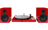 Проигрыватель виниловых дисков Pro-Ject Juke Box E HiFi Set Red