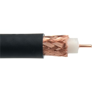 Отрезок коаксиального кабеля Canare (арт. 6866) L-5CFW BLK 6.0m