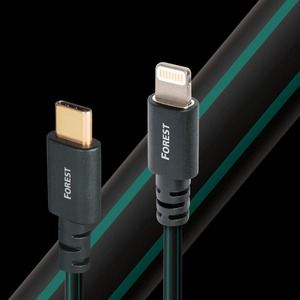 Кабель USB 3.1 Тип C - Lightning Audioquest Forest USB C-Lightning 1.5m