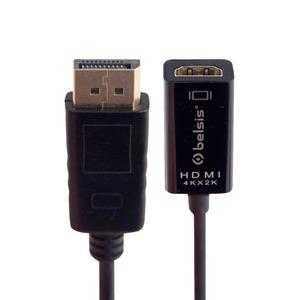 Переходник DisplayPort - HDMI Belsis BW8802 0.2m