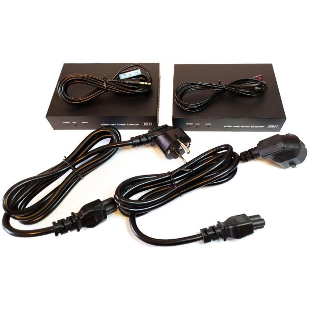 HDMI удлинитель по электросети Dr.HD 005013002 EX 100 PWL