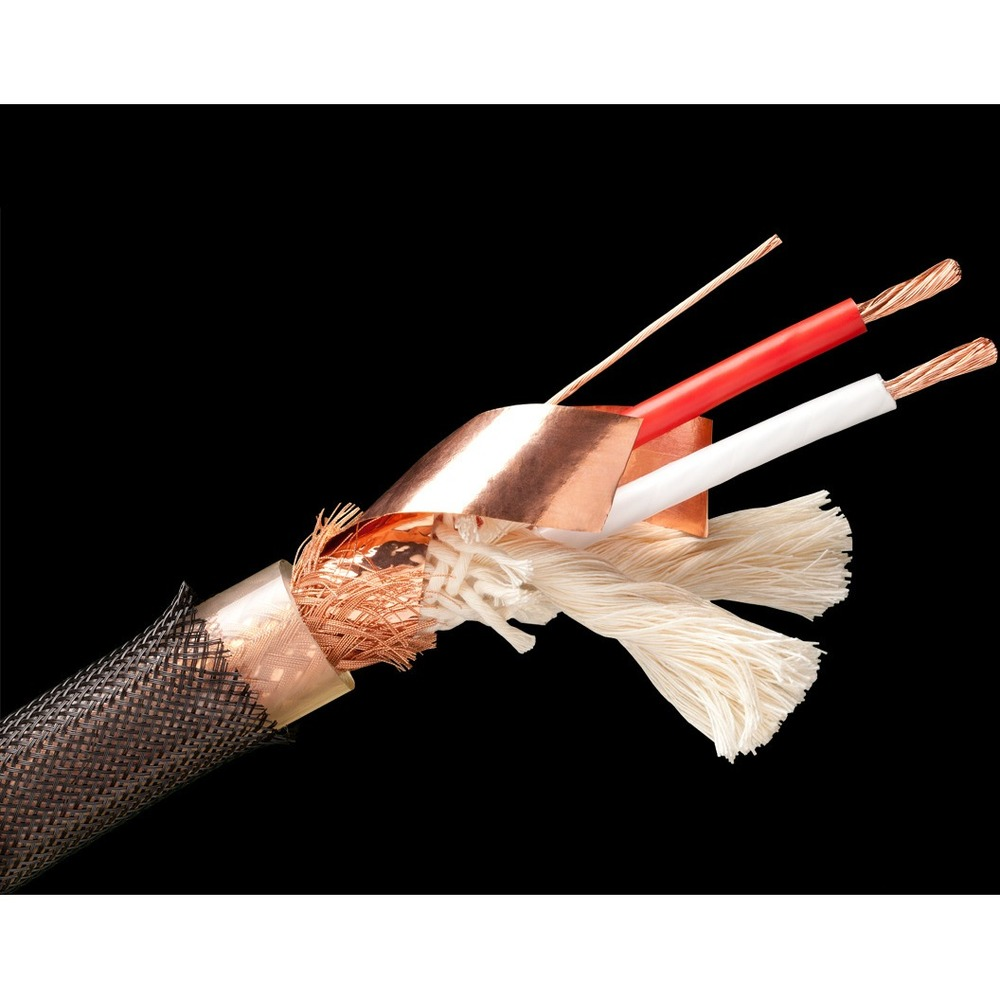 Акустический кабель Single-Wire Banana - Banana Tchernov Cable Reference SC Bn/Bn 4.35m