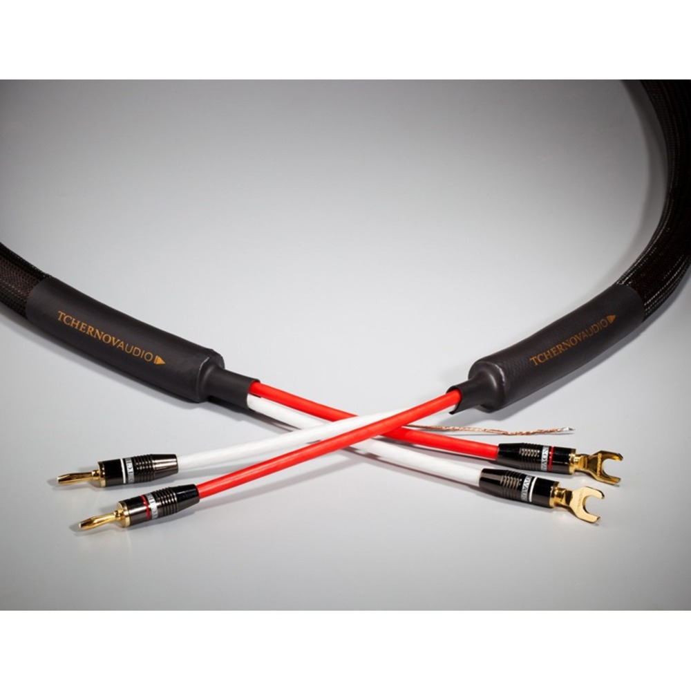 Акустический кабель Single-Wire Banana - Banana Tchernov Cable Reference SC Bn/Bn 5.0m