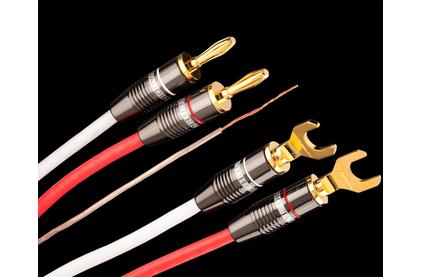 Акустический кабель Single-Wire Spade - Banana Tchernov Cable Reference SC Sp/Bn 2.65m