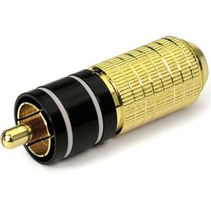 Разъем RCA (Папа) DYNAVOX RCA Plug White (200020)