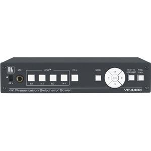 Презентационный масштабатор / коммутатор 4хHDMI, VGA в HDMI и HDBaseT Kramer VP-440X