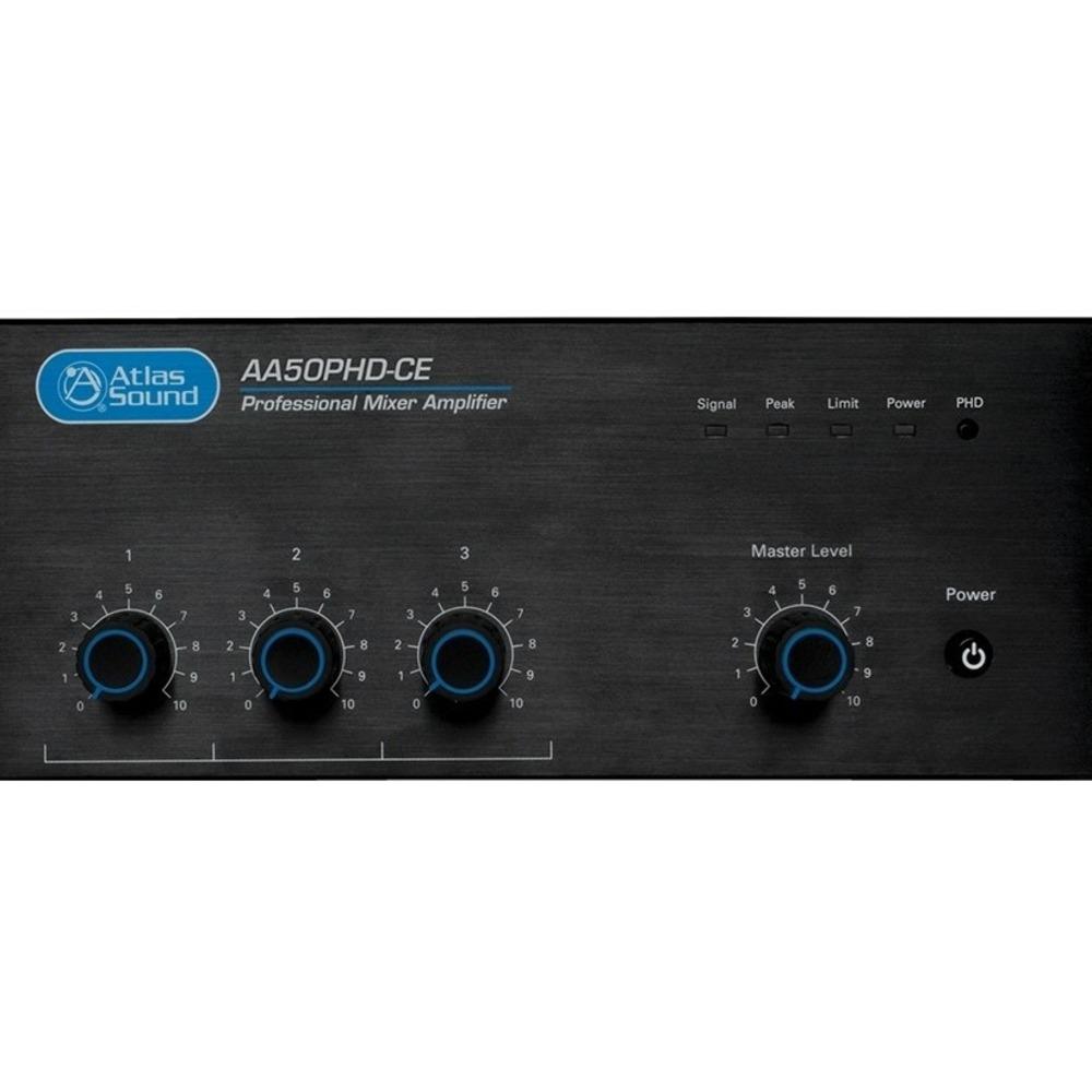 Трехканальный микшер-усилитель Atlas IED AA50PHD-CE