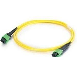 Патч-корд волоконно-оптический Hyperline FHD-MC3-9-MPOM12/AS-MPOM12/AS-A-15M-LSZH-YL 15.0m