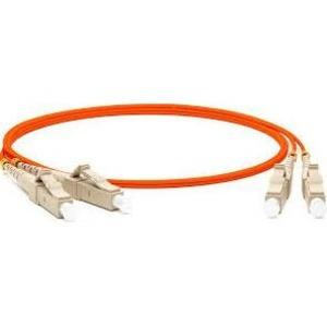 Патч-корд волоконно-оптический Hyperline FC-D2-62-LC/PR-LC/PR-H-15M-LSZH-OR 15.0m