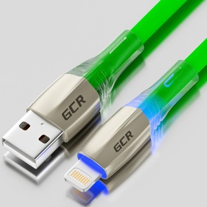 Кабель USB 2.0 Тип А - Lightning Greenconnect GCR-52138 1.2m