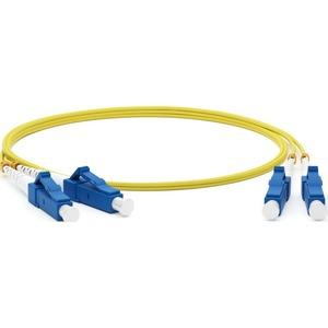 Патч-корд волоконно-оптический Hyperline FC-D2-9-LC/UR-LC/UR-H-30M-LSZH-YL 30.0m
