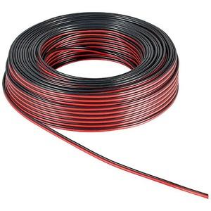 Кабель акустический на катушке Zenit Speaker Cable 1.5mm2 50m Black/Red (100112)