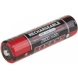 Аккумулятор с защитой Rexant 30-2030-05 Li-ion 2800 mAH 3.7 В 1 шт.