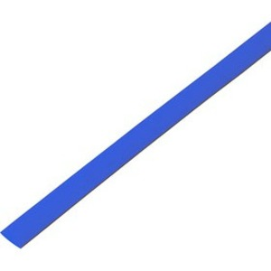 Термоусадочная трубка PROconnect 55-0605 6,0/3,0 мм, синяя, 1 метр
