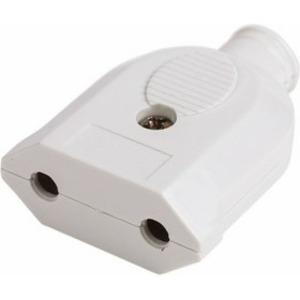 Розетка переносная PROconnect 11-8534 б/з белая 10 А